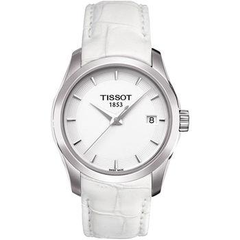 TISSOT T-Trend Couturier Lady 時尚簡約腕錶T0352101601100