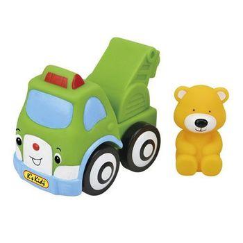 【K's Kids 奇智奇思】彩色安全積木︰ 波比熊吊車