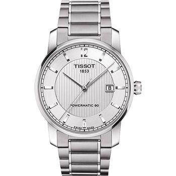 TISSOT T-Classic Powermatic 80【鈦】機械腕錶T0874074403700