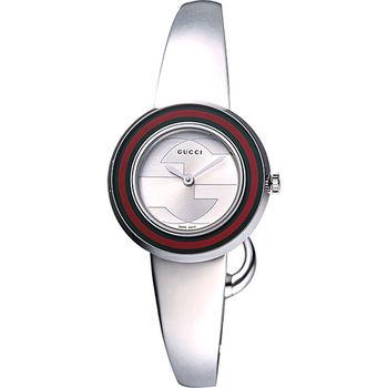 GUCCI U-Play 107系列 GG時尚手鐲腕錶YA129506