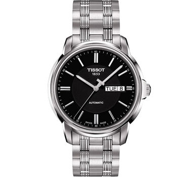TISSOT Automatics III 時尚機械腕錶T0654301105100