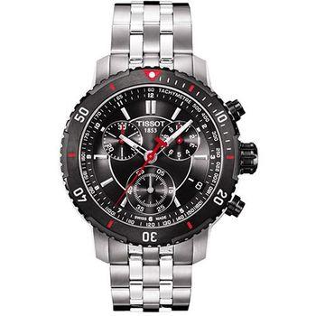 TISSOT PRS200 競賽傳奇計時腕錶T0674172105100