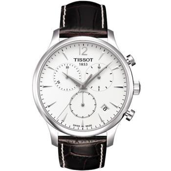 TISSOT T-TRADITION 極簡風計時腕錶-白T0636171603700