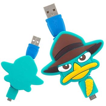 【Disney】Micro USB 造型伸縮傳輸線 -泰瑞