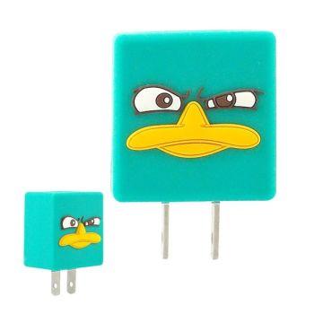 【Disney】可愛造型充電轉接插頭 USB充電器 -泰瑞