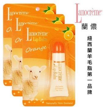蘭儂 柔潤羊毛脂護唇膏(甜菊香)3瓶組(紐西蘭羊毛脂第一品牌)