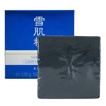 KOSE 高絲 雪肌精晶透潔顏皂 120g(無盒) (限時特惠組)