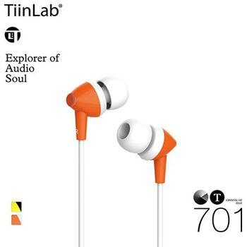 【TiinLab】Crystal of TFAT CT 水晶系列耳機 - CT701(橘色)