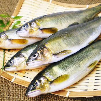 【巧益市】宜蘭母香魚1盒(7~9尾/1kg/盒)