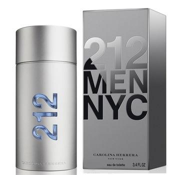 Carolina Herrera 212 都會男性淡香水 50ml+指甲油隨機款