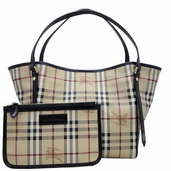 BURBERRY 經典騎士格紋手提/肩背水桶包(附可拆小袋)-3色-型網
