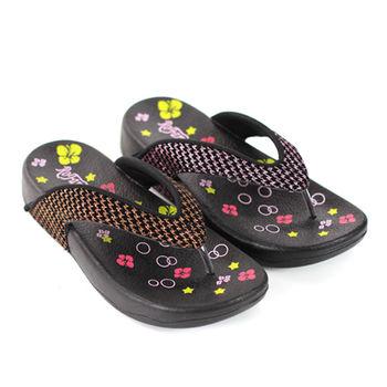 【ROFAMNI 若梵妮】ROFAMNI 若梵妮_德國PU環保素材夾腳健走鞋-粉紅色、金色