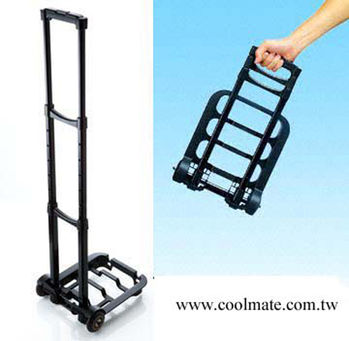 【Cool Mate】ST-305攜帶式可摺疊多功能休閒手推車