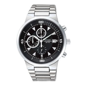 CITIZEN 豪邁酷炫三眼計時腕錶AN3370-57E