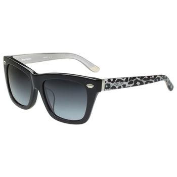 Juicy Couture 豹紋個性粗版 太陽眼鏡(黑色)