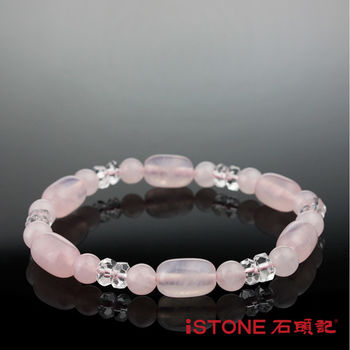 石頭記 粉晶鼓型手鍊-幸福愛情