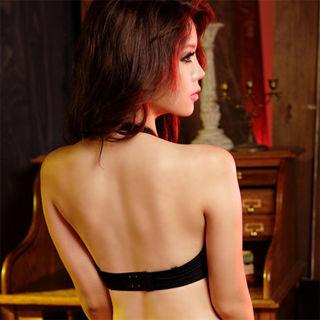 【嫚黎紗】流行教主-*魅影*-B-D罩杯豐胸T恤內衣組(時尚黑)