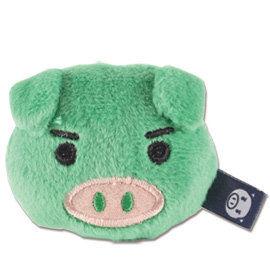 UNIQUE 可愛豬造型磁鐵 綠色