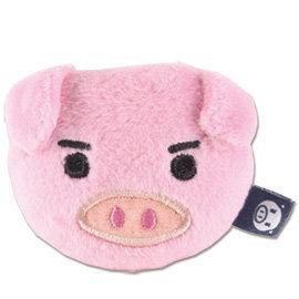 UNIQUE 可愛豬造型磁鐵 粉紅色
