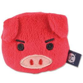 UNIQUE 可愛豬造型磁鐵 紅色