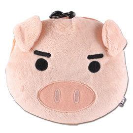 UNIQUE 可愛豬臉型車票包