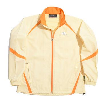 KAPPA義大利小朋友吸濕排汗速乾單層風衣~橘-C161-1806-L2