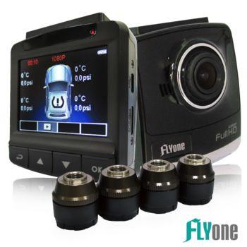 FLYone NR100 TPMS 胎壓偵測 / WDR行車記錄 雙模監控器
