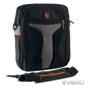 【EVERO】都會休閒10吋電腦包 公事包 側背包 CS403