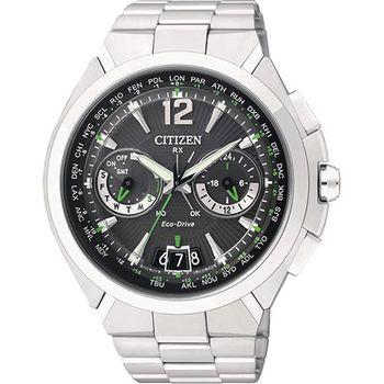 CITIZEN Eco-Drive 衛星對時旗艦腕錶CC1091-50F