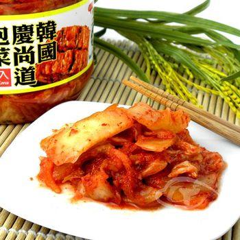 【韓英】韓國慶尚道泡菜1kg/罐