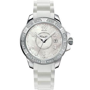 Thomas Sabo Ladies 彩漾珍珠貝晶鑽腕錶WA0119