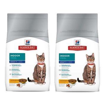 【Hill's】美國希爾思 室內熟齡貓專用配方 貓飼料 15.5磅 X 2包