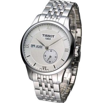 天梭 TISSOT Le Locle 立洛克小秒針機械錶 T006.428.11.038.00
