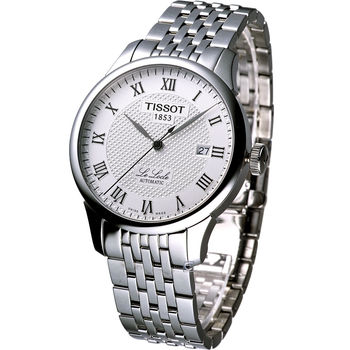 TISSOT 力洛克經典自動機械錶 T41148333