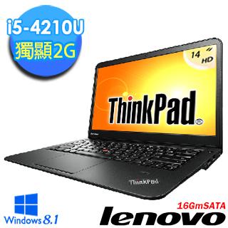 [買就送]【Lenovo聯想】Thinkpad S440 14吋 i5-4210U 2G獨顯輕薄觸控筆電(夜幕黑-霧面)