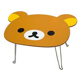 San-X 拉拉熊滿滿懶熊生活系列大頭造型折疊桌 懶熊