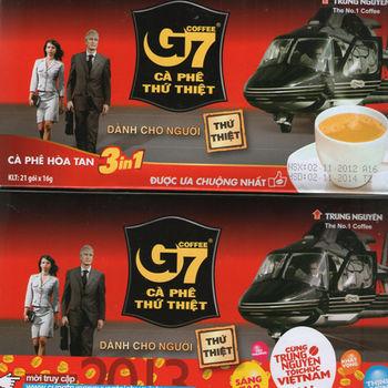Ca phe Sua G7越南3合一G7咖啡奶(沖調包)*6盒