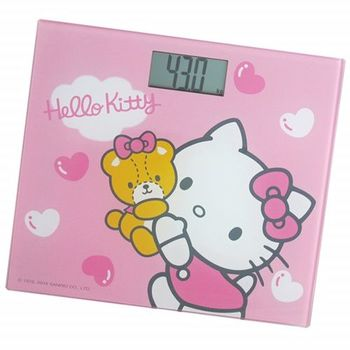 【Hello Kitty】電子體重計HW-319P