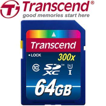 創見 SDXC 64GB UHS-I / U1 Class10記憶卡(大卡)