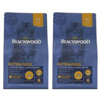 【Blackwood】柏萊富 特調幼貓成長配方(雞肉+米)4磅 X 2包