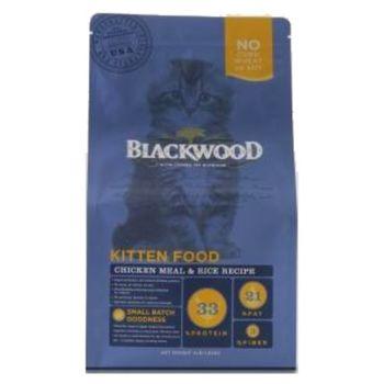 【Blackwood】柏萊富 特調幼貓成長配方(雞肉+米)4磅 X 1包