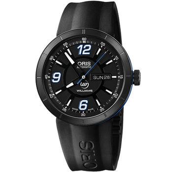 Oris TT1 Day Date WilliamsF1 機械腕錶-黑735.7651.47.65RS