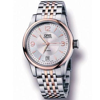 ORIS CLASSIC 驅魔神探經典腕錶733.7578.43.61M