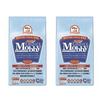 【Mobby】莫比 大型成犬 羊肉米 自然食飼料 1.5公斤 X 2包