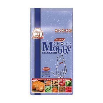 【Mobby】莫比 挑嘴貓 專用配方 自然食飼料 3公斤 X 1包