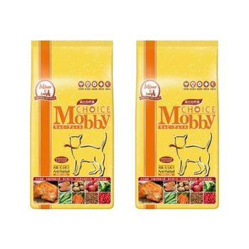【Mobby】莫比 成貓化毛專用配方 自然食飼料 1.5 公斤 X 2包
