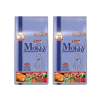 【Mobby】莫比 挑嘴貓 專用配方 自然食飼料 1.5公斤 X 2包
