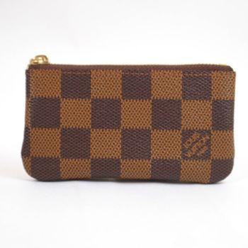 【LV】N62658 棋盤格紋小型方型鑰匙零錢包(預購)
