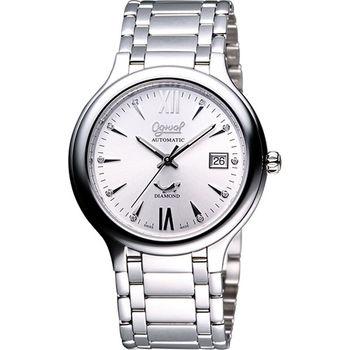 Ogival 愛其華 簡約時尚真鑽腕錶3832AJMS