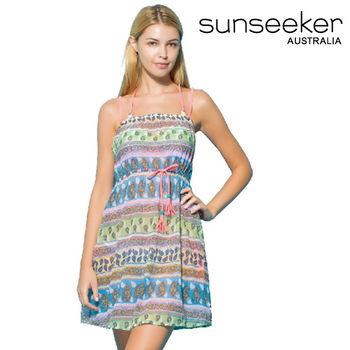 【sunseeker 泳裝】海洋度假系列民俗風情女洋裝 (84027)